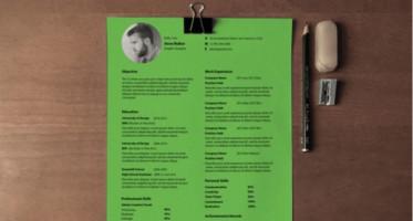 Resume Templates PSD