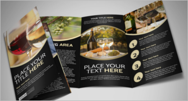 Wine Brochure Templates