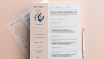 Simple Resume Format Templates