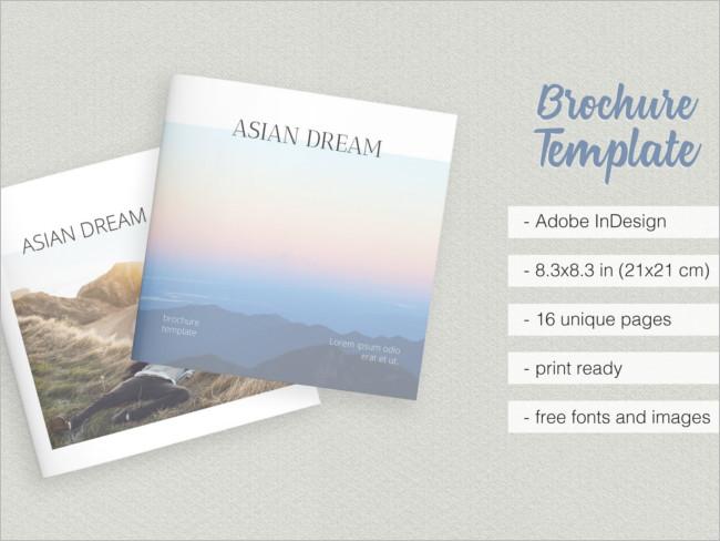 Main Dream Brochure Template