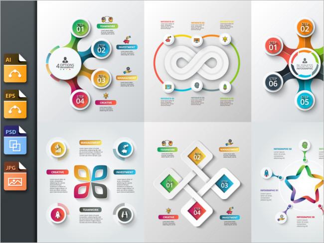Diagrams Infographic Brochure