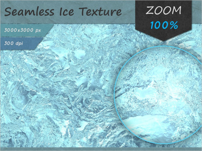 White Ice Seamless HD Texture