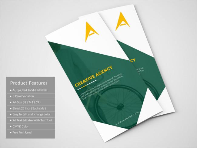 Creative Agency Trifold Brochure