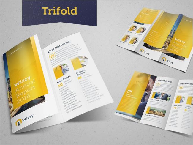 Wizzy Trifold Brochure