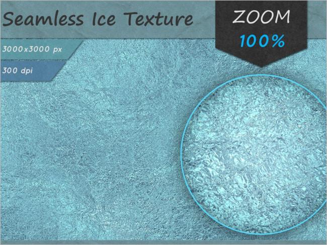 Ice Rain Seamless Texture