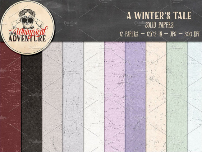 A Winter Season Texture