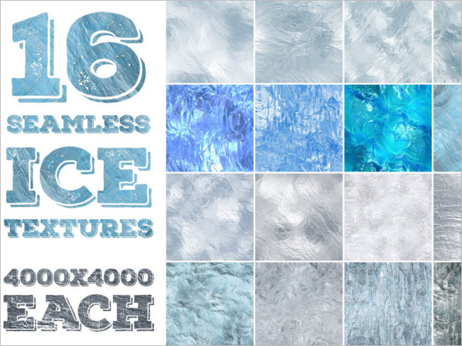 Seamless Ice Textures