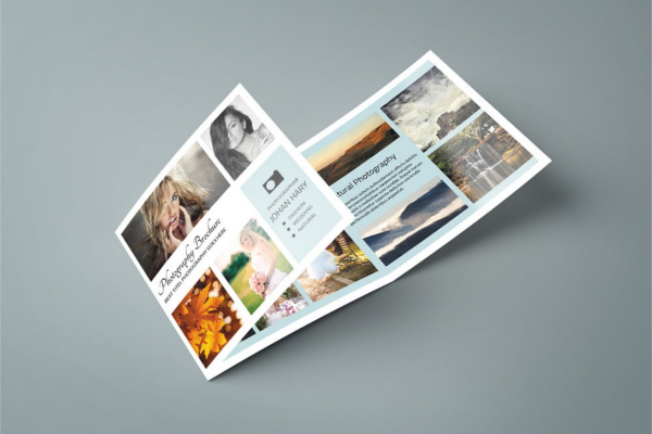 Advertising Tri-Fold Brochure Outlook