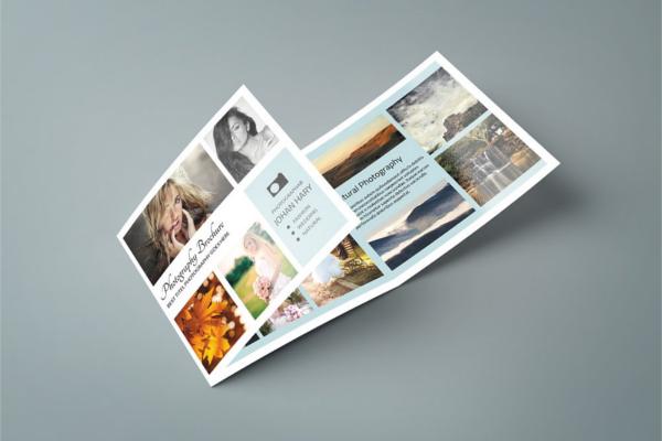 Advertising Tri-Fold Brochure Outlook