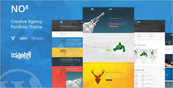 Agency Metro Style Mobile Template