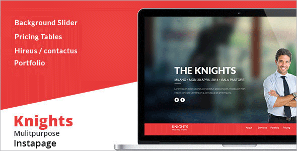 Agency Multipurpose Instapage Template