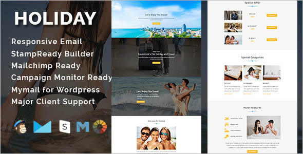Agency Travel Email Template