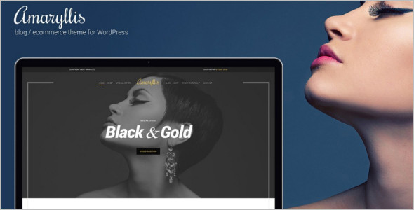 Amaryllis WordPress Theme