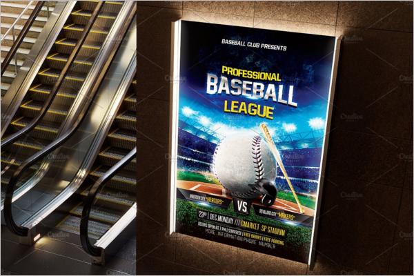 Amazing Baseball Stadium Flyer