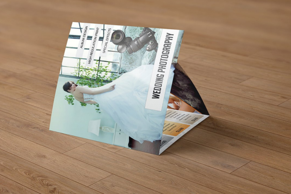Amazing Wedding Square Brochure