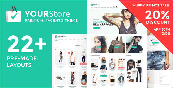 Apparel Toy Store Magento Template
