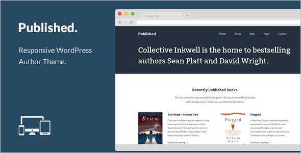Author Retail WordPress Theme