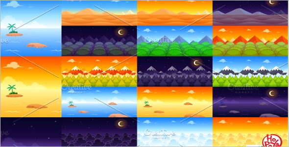 Background Game Design Template