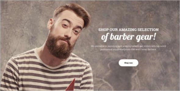 BarberShop Equipment Reactive Magento Theme