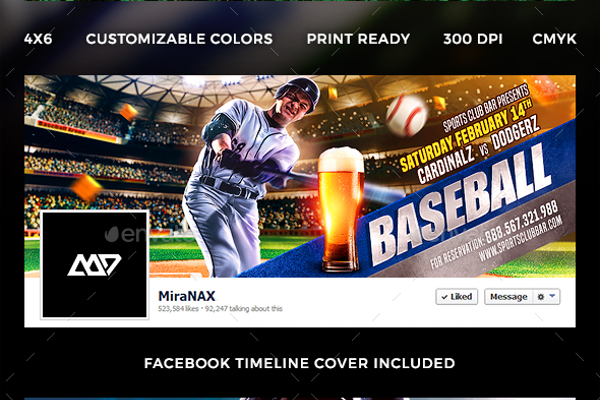 Baseball Campionship League Flyer