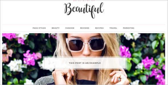 Beautiful E-commerce WordPress Theme