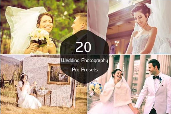 Beautiful Wedding Photography Presets