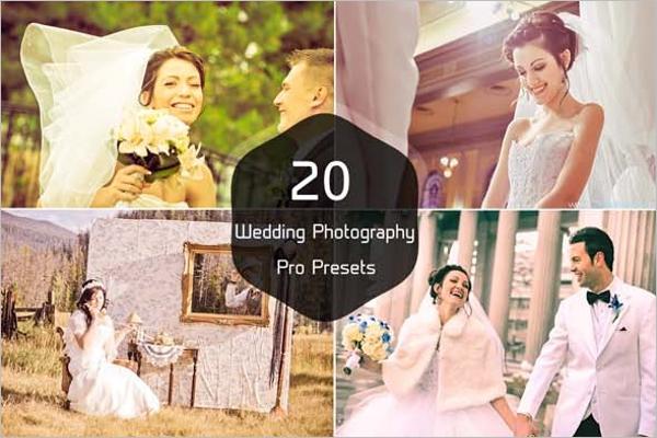 Beautiful Wedding Photography Presets
