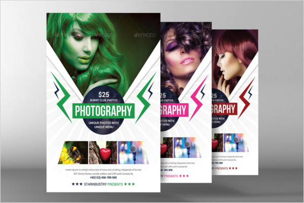 Beauty Salon Photography Brochure