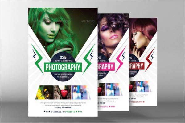 Beauty Salon Photography Brochure