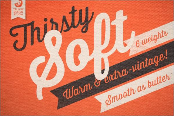 Bold Vintage Cursive Fonts
