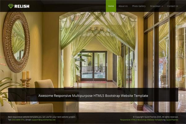 Bootstrap Business Website Design