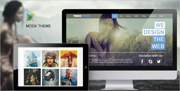 Bootstrap MODX Template