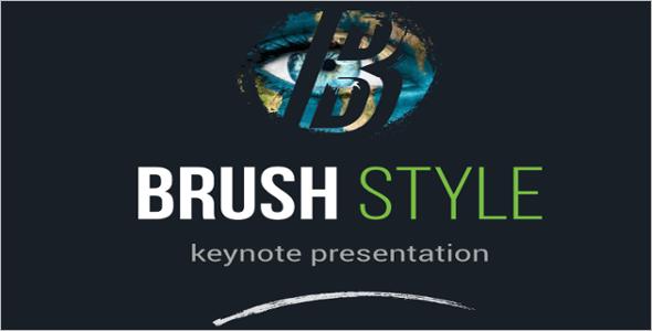 Business Based Brush Style Design Theme