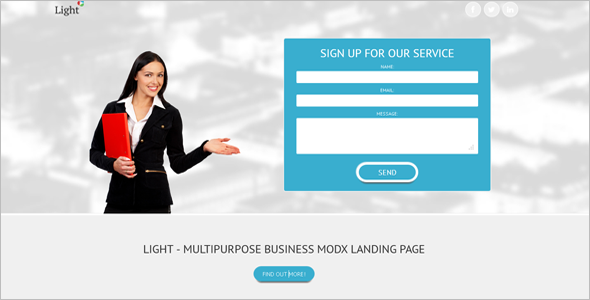 Business MODX Template