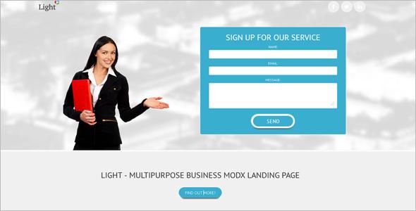 Business MODX Template