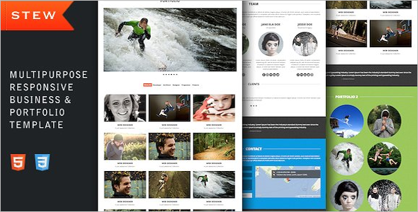 Business Portfilio bootstrap Templates