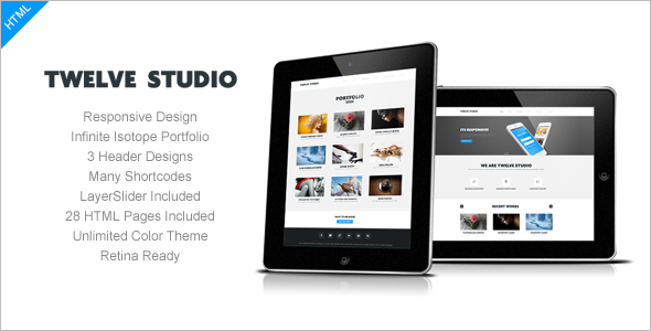Business Studio Website Template