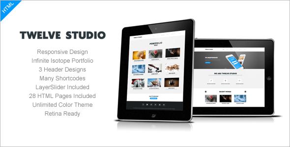 Business Studio Website Template