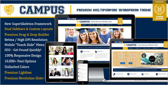 Campus Education Blog Template