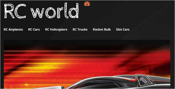 Car Toy Store Magento Template