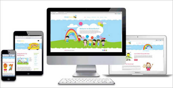 Child kindergarten Joomla Template