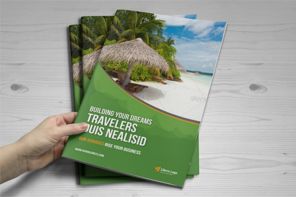 Chilling Holiday Travel Brochure