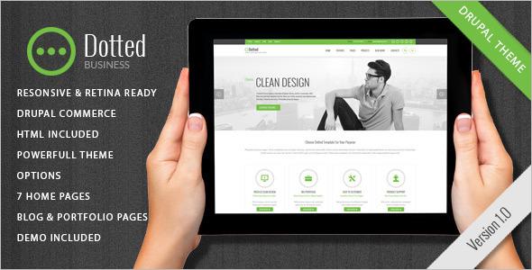 Clean Design Studio Drupal Theme