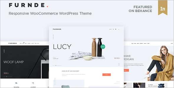 Clean E-Commerce WordPress Theme