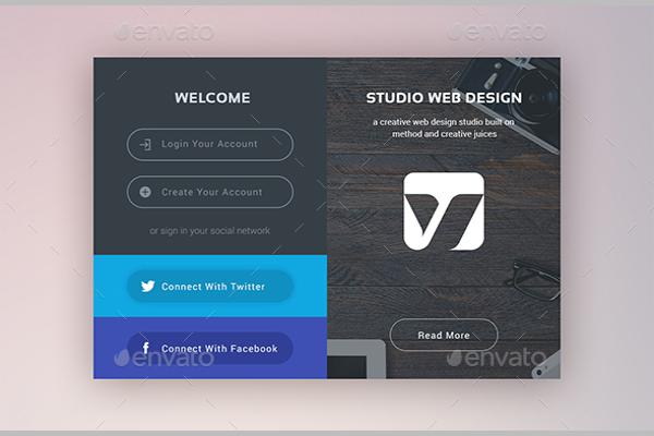 Clean Modern Web Elements