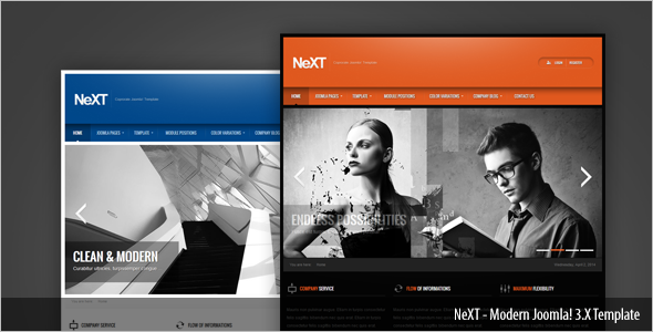 Clean Publisher Joomla Template