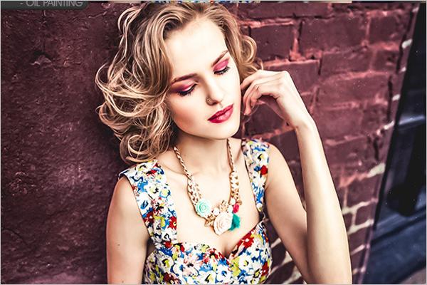 Colourful Lightroom Photography Design
