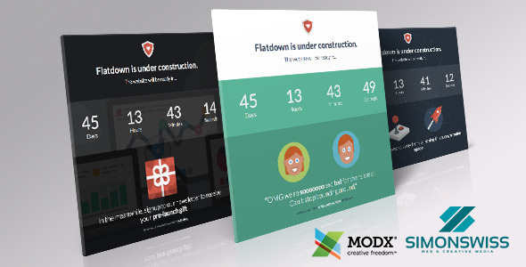 Coming Soon MODX Template