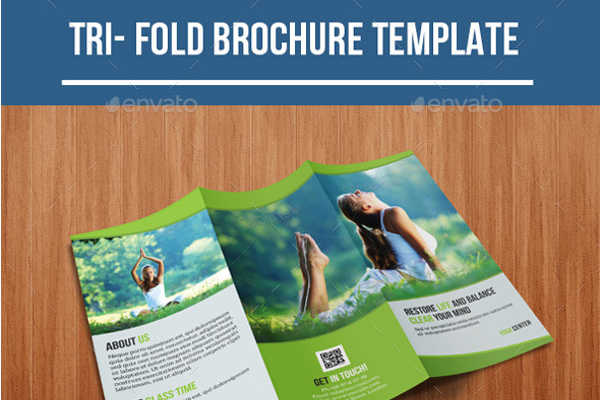 Company Yoga Brochure Template