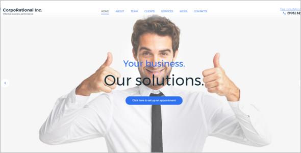 CorpoRational It WordPress template